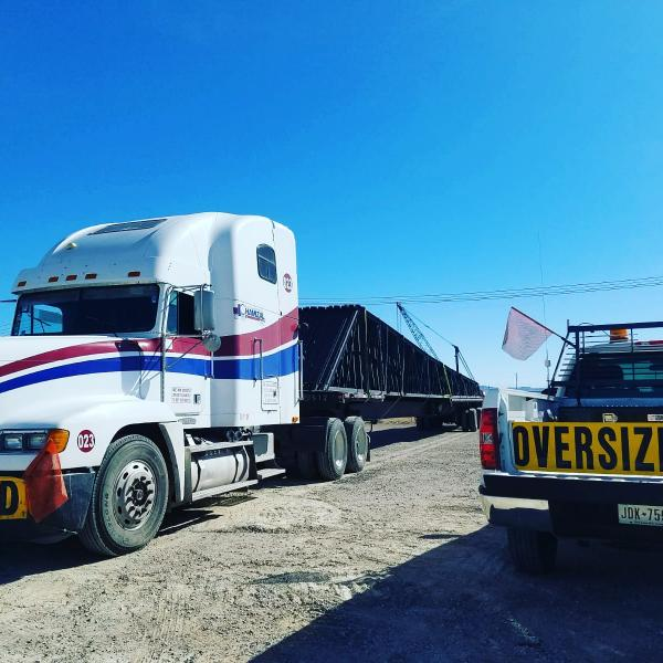 Oversize from Mexico to USA